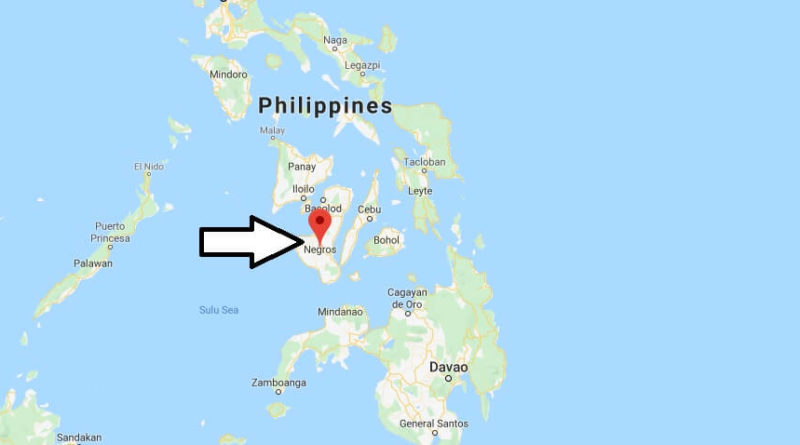 Where is Negros Located? What Country is Negros in? Negros Map