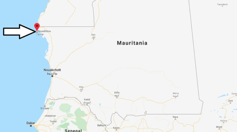 Where is Nouadhibou Located? What Country is Nouadhibou in? Nouadhibou Map