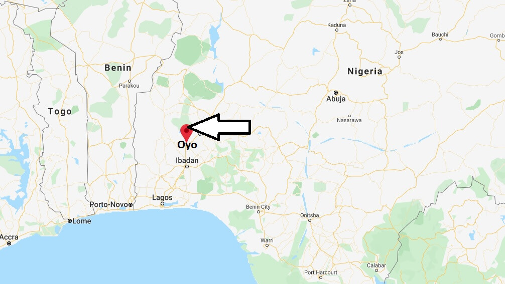 Where is Oyo, Nigeria Located? What Country is Oyo in? Oyo Map