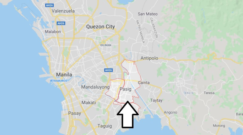 Where is Pasig Located? What Country is Pasig in? Pasig Map