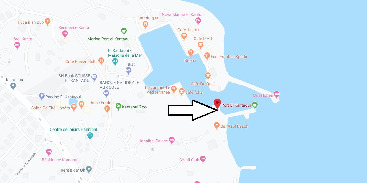 Where is Port El Kantaoui Located? What Country is Port El Kantaoui in? Port El Kantaoui Map