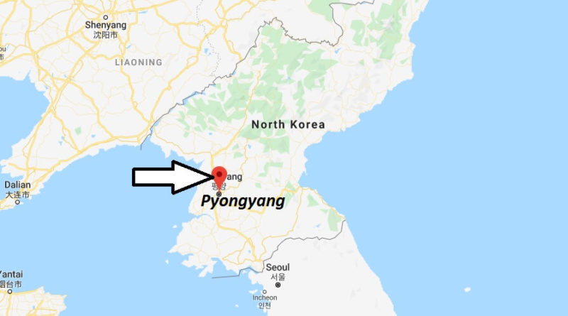 Where is Pyongyang Located? What Country is Pyongyang in? Pyongyang Map