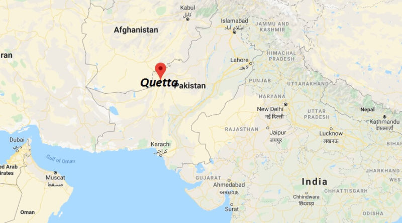 Where is Quetta Located? What Country is Quetta in? Quetta Map