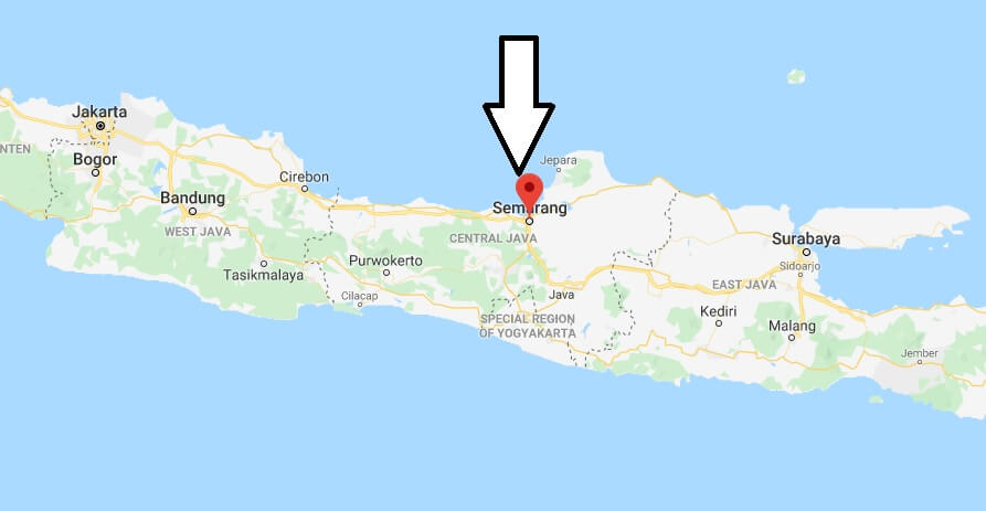 Where is Semarang Located? What Country is Semarang in? Semarang Map