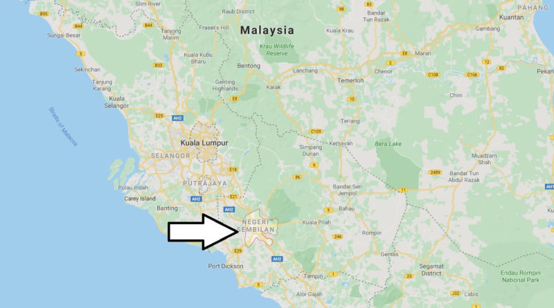 Where is Seremban Located? What Country is Seremban in? Seremban Map