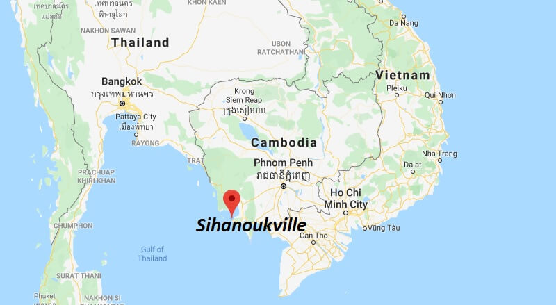 Where is Sihanoukville Located? What Country is Sihanoukville in? Sihanoukville Map