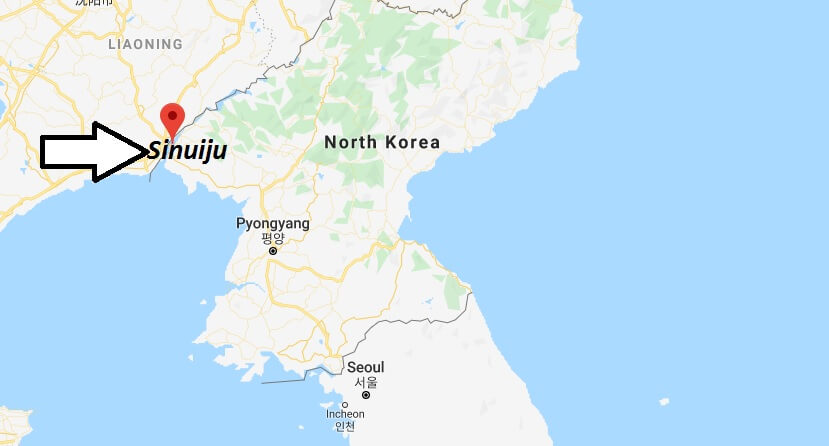 Where is Sinuiju Located? What Country is Sinuiju in? Sinuiju Map