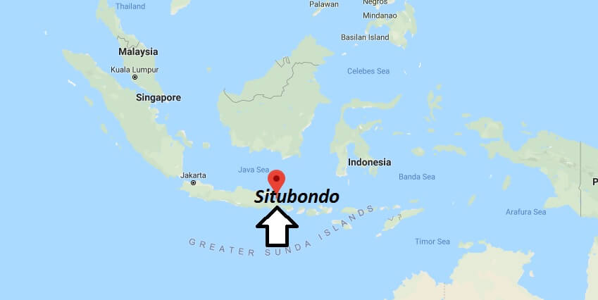 Where is Situbondo Located? What Country is Situbondo in? Situbondo Map