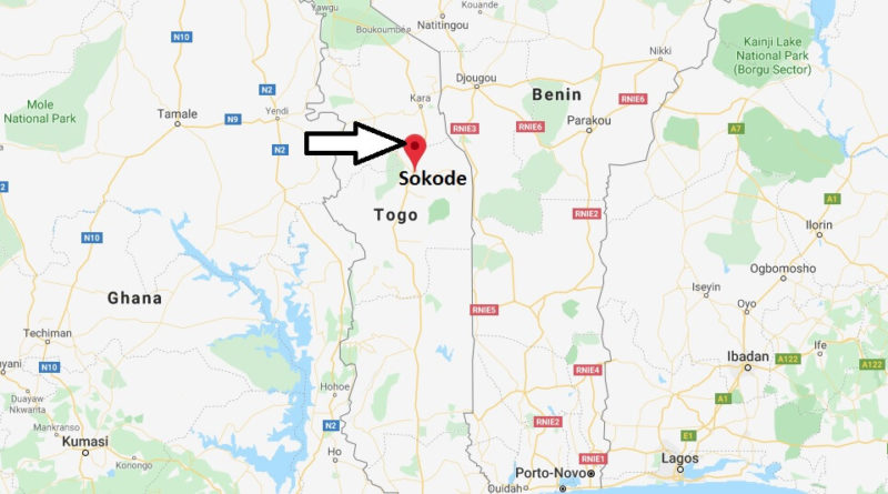 Where is Sokode Located? What Country is Sokode in? Sokode Map