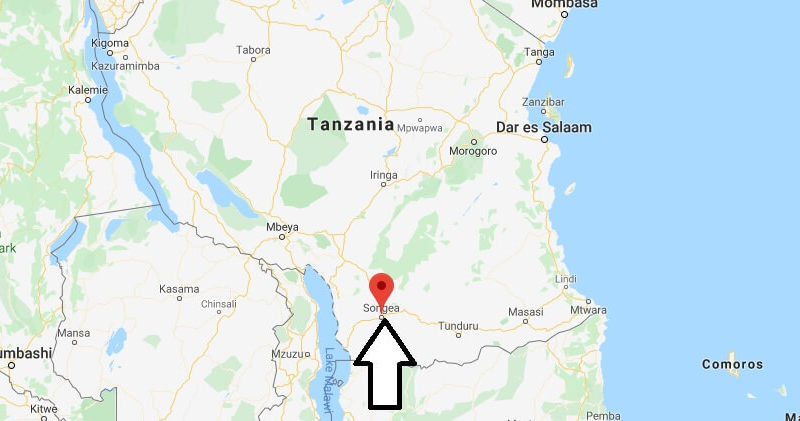 Where is Songea Located? What Country is Songea in? Songea Map