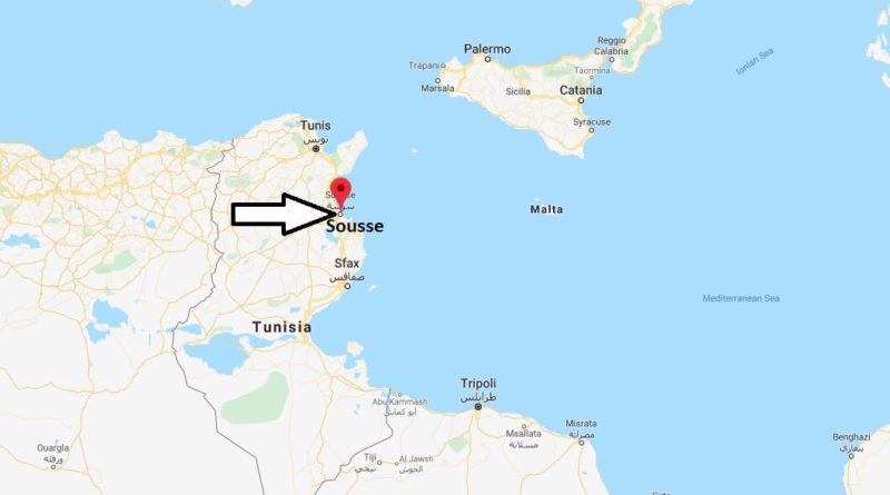 Where is Sousse Located? What Country is Sousse in? Sousse Map