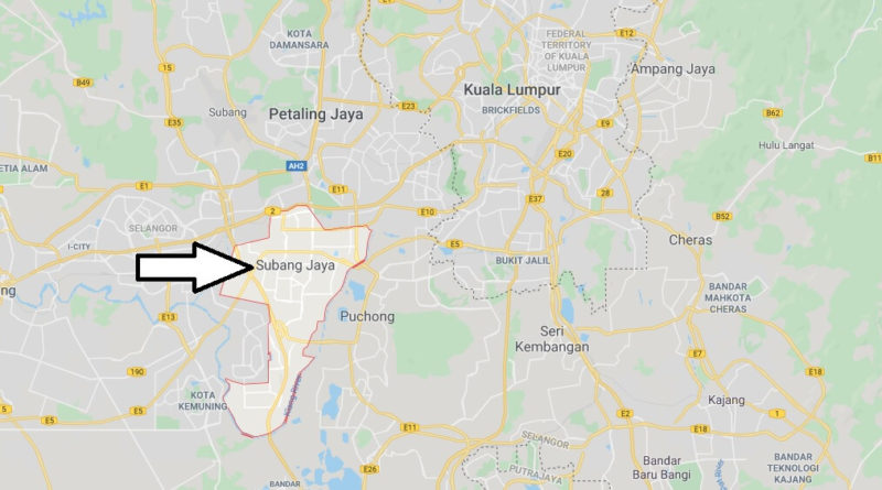 Where is Subang Jaya Located? What Country is Subang Jaya in? Subang Jaya Map