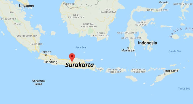 Where is Surakarta Located? What Country is Surakarta in? Surakarta Map