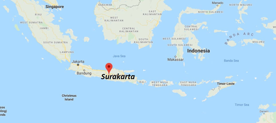 Where is Surakarta Located? What Country is Surakarta in ...