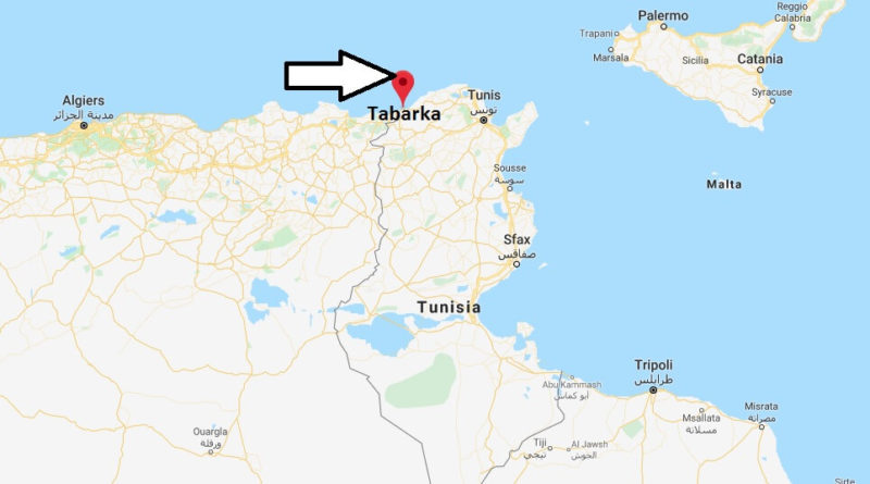 Where is Tabarka Located? What Country is Tabarka in? Tabarka Map