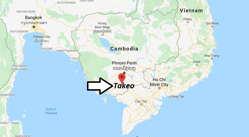 Where is Takeo Located? What Country is Takeo in? Takeo Map