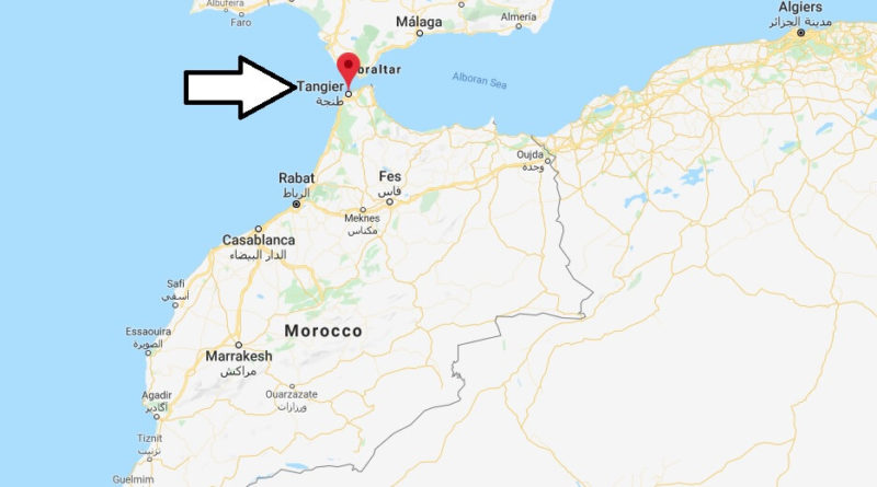Where is Tangier Located? What Country is Tangier in? Tangier Map