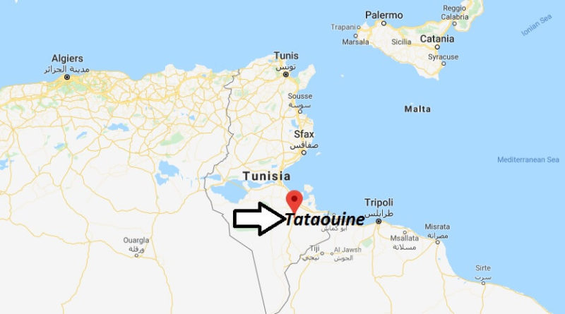 Where is Tataouine Located? What Country is Tataouine in? Tataouine Map