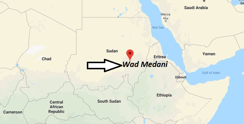Where is Wad Medani Located? What Country is Wad Medani in? Wad Medani Map