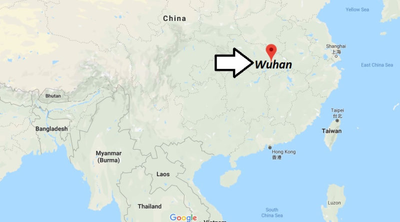 Where is Wuhan Located? What Country is Wuhan in? Wuhan Map