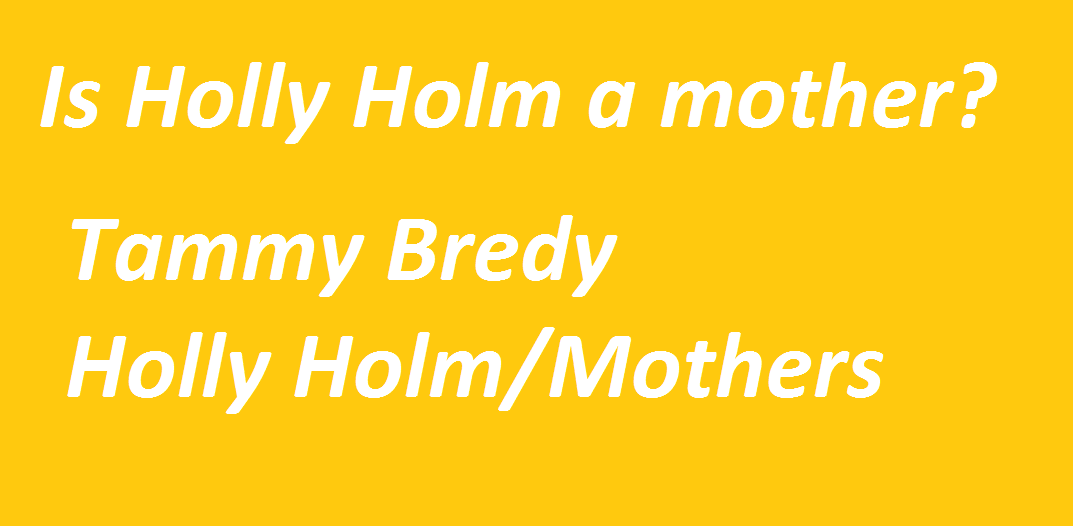 Is Holly Holm a mother