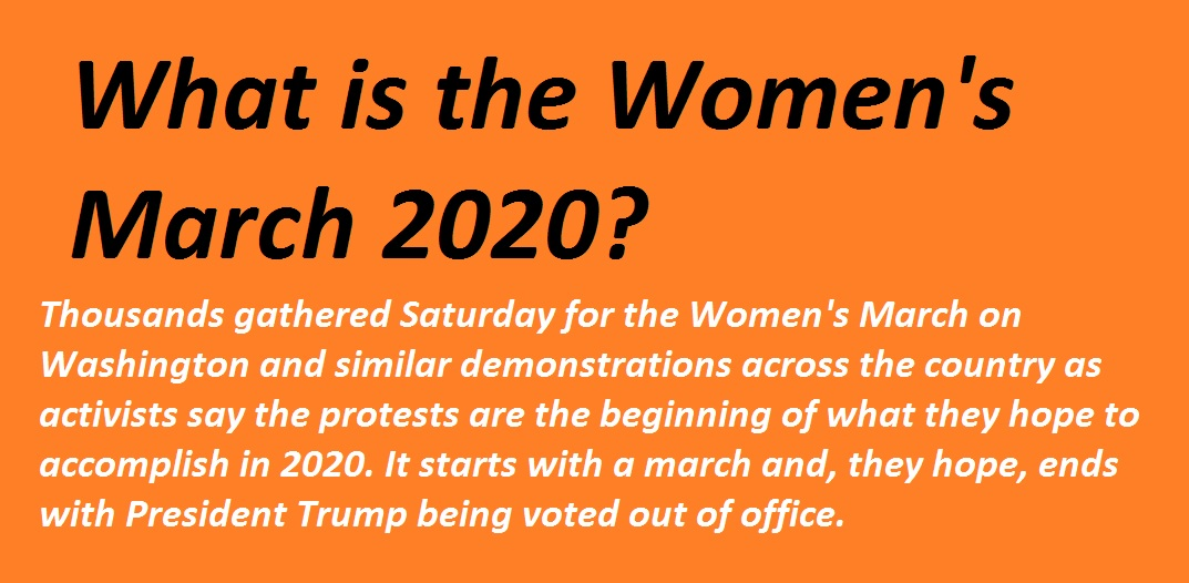 What is the Womens March 2020