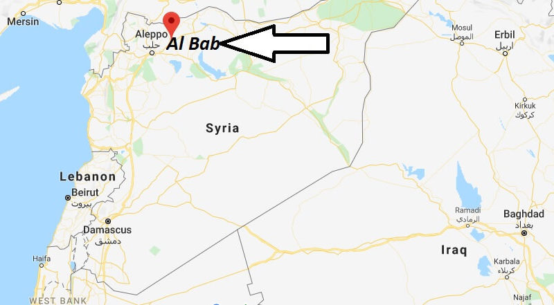 Where is Al Bab Located? What Country is Al Bab in? Al Bab Map