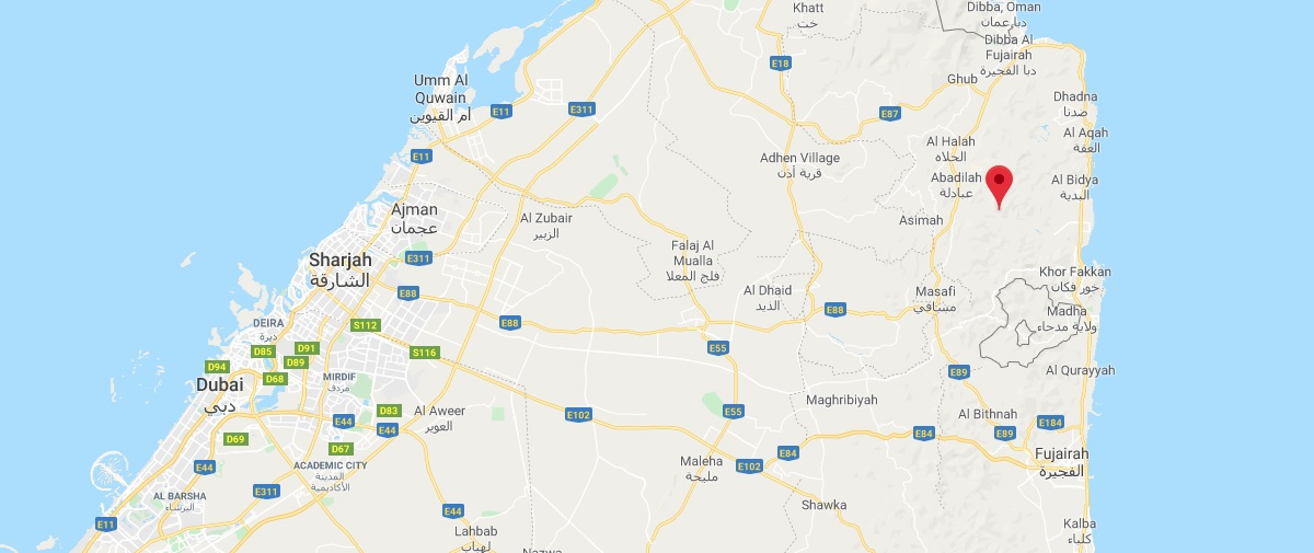 Where is Al Fujairah Located? What Country is Al Fujairah in? Al Fujairah Map