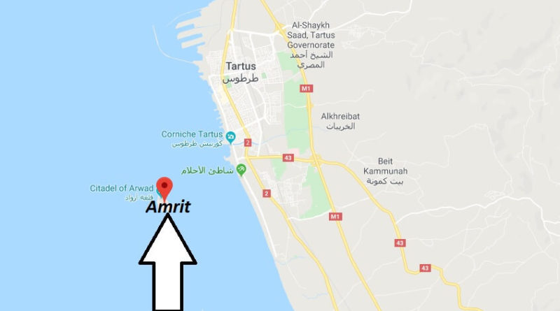 Where is Amrit (Syria) Located? What Country is Amrit in? Amrit Map