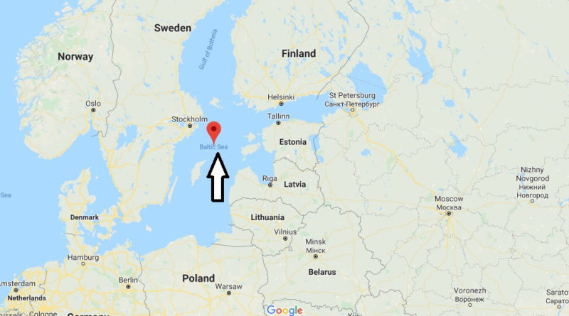 Where is Baltic Sea? What country is the Baltic Sea located in
