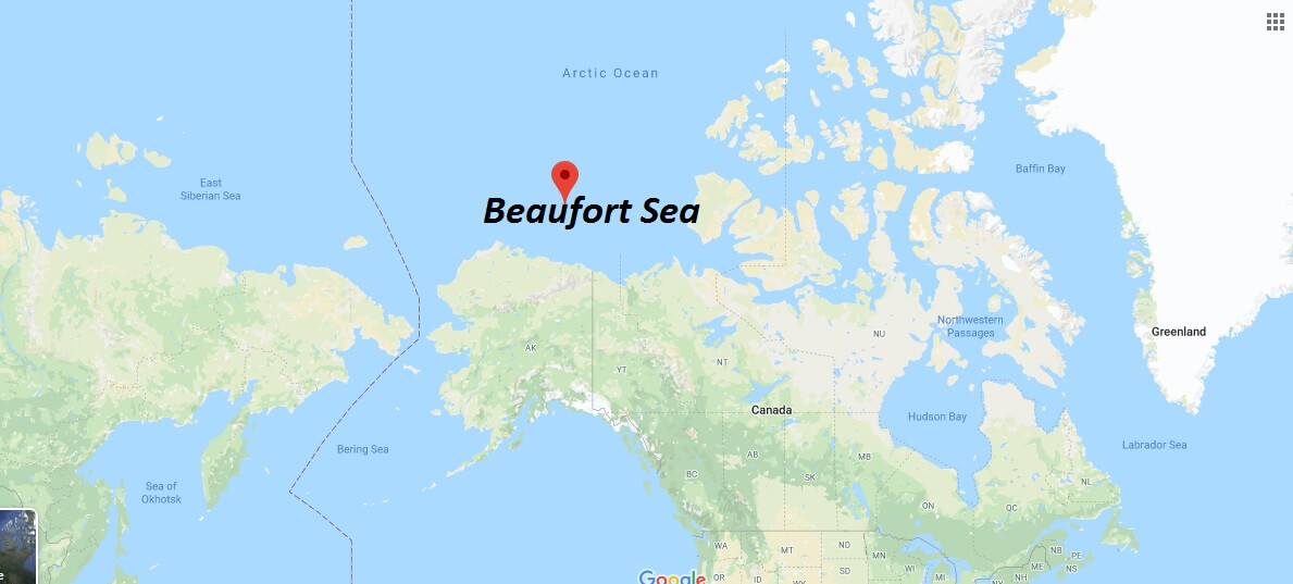 Where is Beaufort Sea? How deep is the Beaufort Sea?