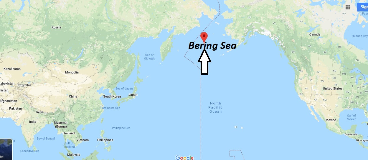 Where is Bering Sea? What country is the Bering Sea in?