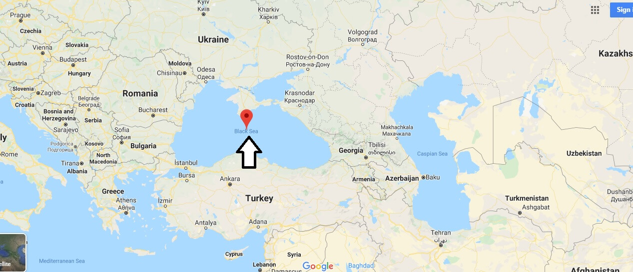 Where is Black Sea? What country is the Black Sea in?