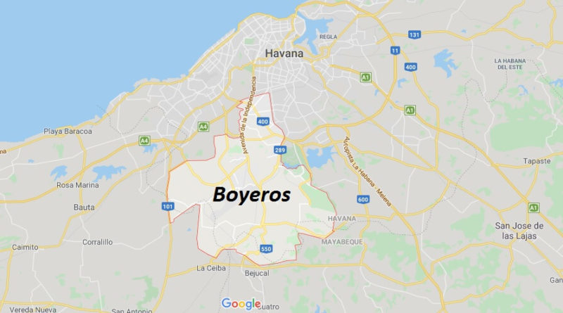 Where is Boyeros Located? What Country is Boyeros in? Boyeros Map