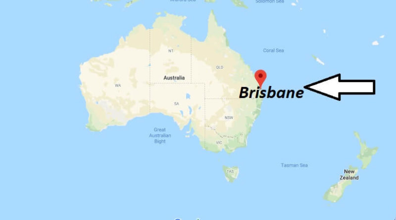 Where is Brisbane Located? What Country is Brisbane in? Brisbane Map