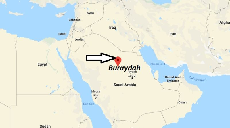 Where is Buraydah Located? What Country is Buraydah in? Buraydah Map