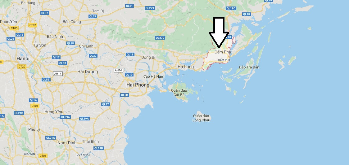 Where is Cẩm Phả Located? What Country is Cẩm Phả in? Cẩm Phả Map