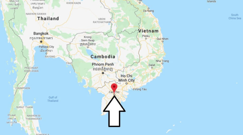 Where is Can Tho Located? What Country is Can Tho in? Can Tho Map