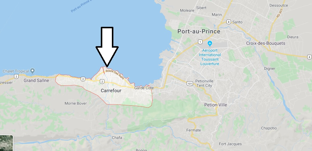 Where is Carrefour Located? What Country is Carrefour in? Carrefour Map