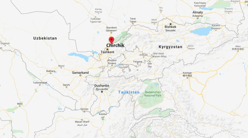Where is Chirchik Located? What Country is Chirchik in? Chirchik Map
