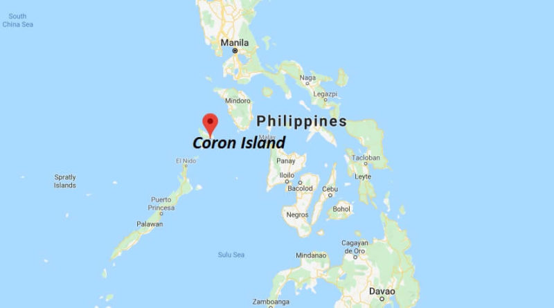 Where is Coron Island Located? What Country is Coron Island in? Coron Island Map