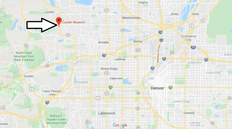 Where is Cussler Museum? What hotels are near Cussler Museum?