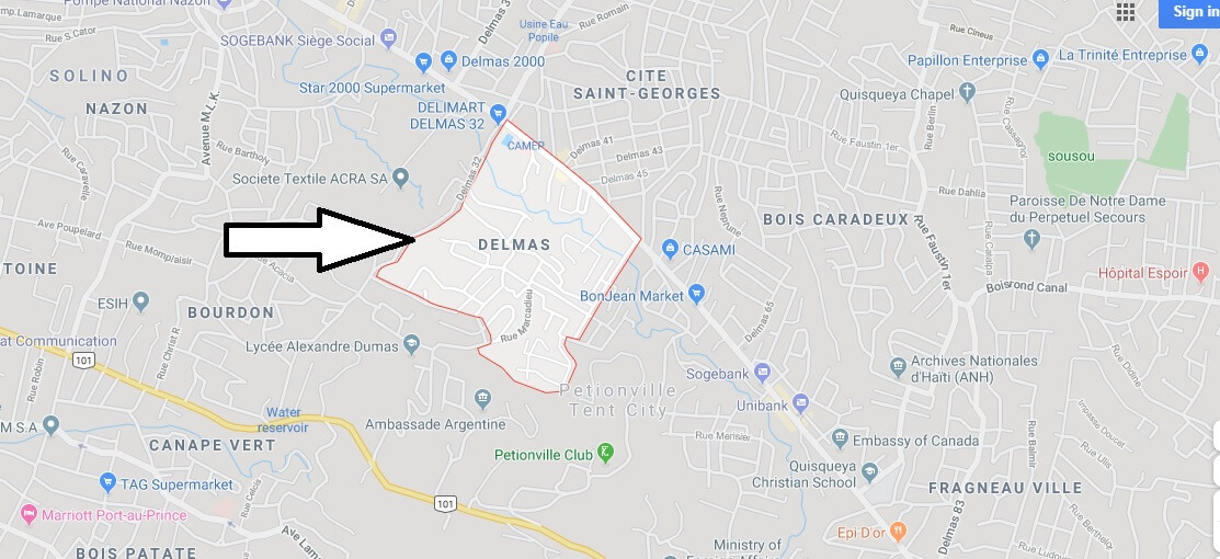 Where is Delmas Located? What Country is Delmas in? Delmas Map