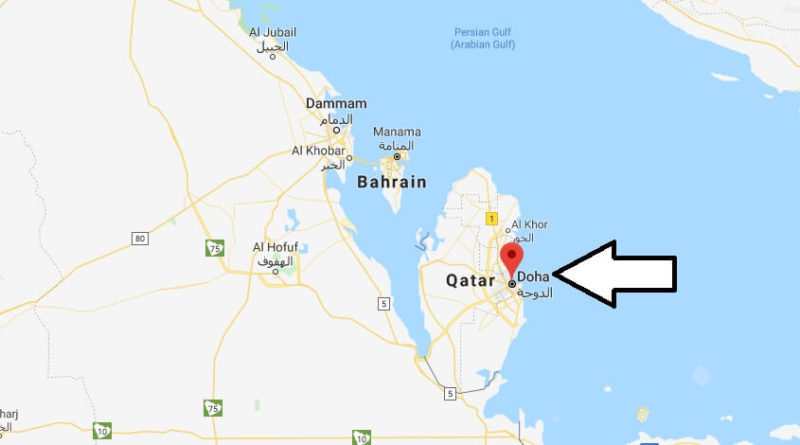 Where is Doha Located? What Country is Doha in? Doha Map