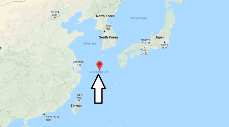 Where is East China Sea? Is Taiwan in the East China Sea?