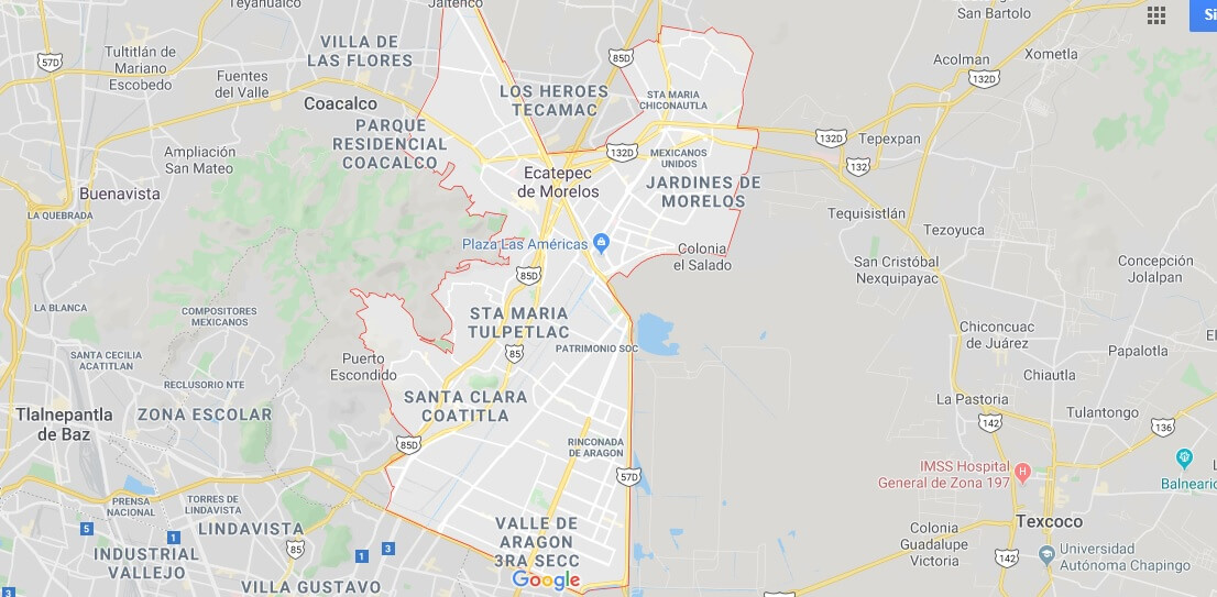 Where is Ecatepec Located? What Country is Ecatepec in? Ecatepec Map