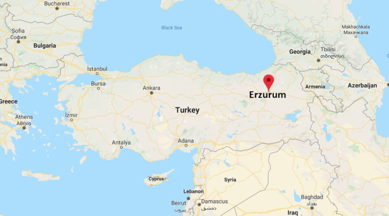 Where is Erzurum Located? What Country is Erzurum in? Erzurum Map