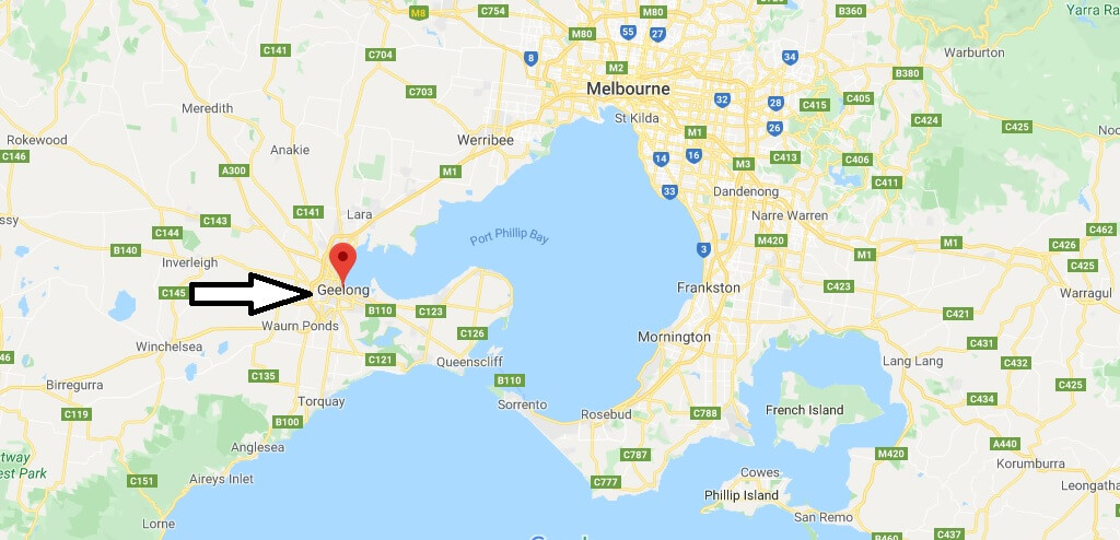 Where is Geelong Located? What Country is Geelong in? Geelong Map