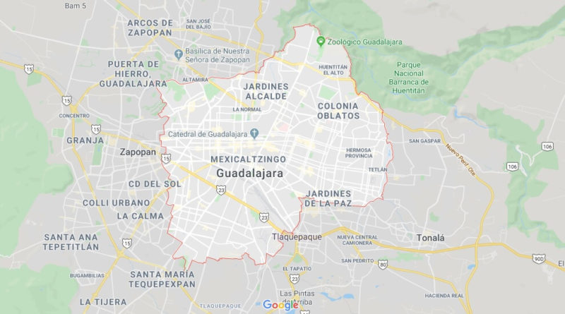 Where is Guadalajara Located? What Country is Guadalajara in? Guadalajara Map