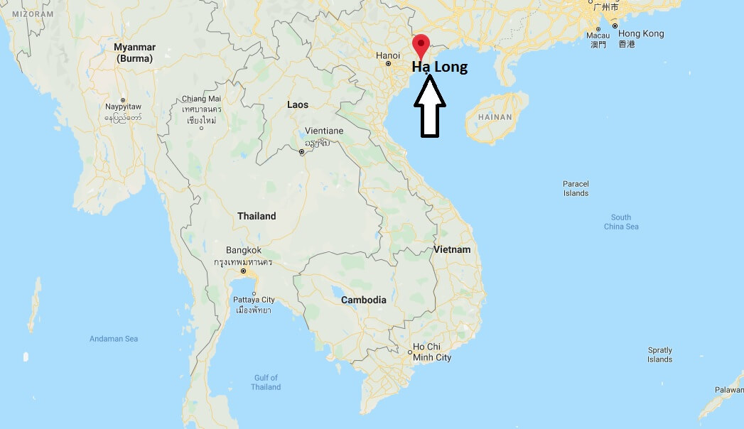 Where is Hạ Long Located? What Country is Hạ Long in? Hạ Long Map